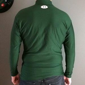 66a03af7ea Men's green long sleeve under armor shirt